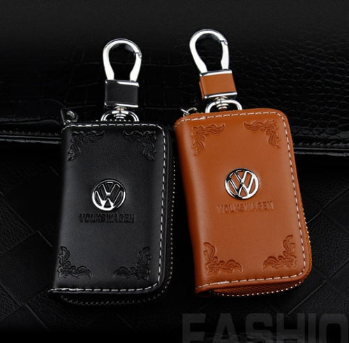 Zipper Remote Control Key Volkswagen Car Logo Key