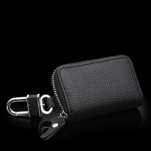 Car Leather auto Key Keychain Cover Case
