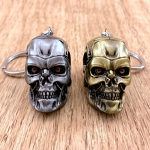 Skull Car Keychains Car Styling Key Ring Automobiles Decoration Accessories Key Chain