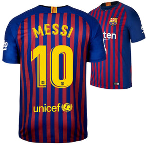 new product 820c9 ffbce Barcelona 2018/2019 Messi Home Kit