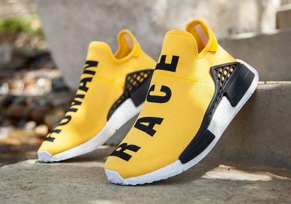 newest collection 07b52 1a5f2 Adidas Pharrell Williams Human Race NMD Yellow