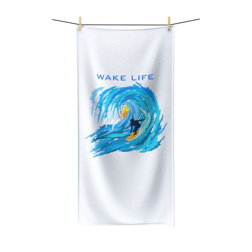 Polycotton Towel - WAKE LIFE