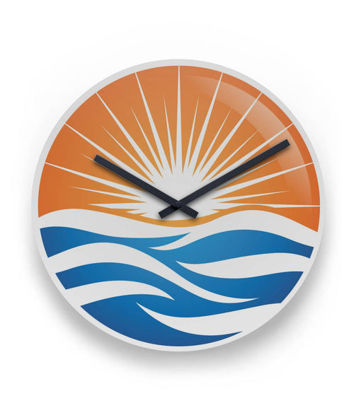 "AWESOME LAKE LIKE WALL CLOCK 11"" Round Wall Clock"
