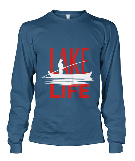 WOMANS - LAKE LIFE CREW SHIRT