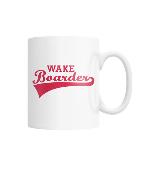 Wakeboarder Mug White Coffee Mug