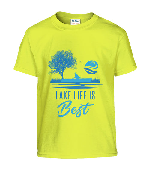 CHILDS - TEE SHIRT (Lake Life Is Best)