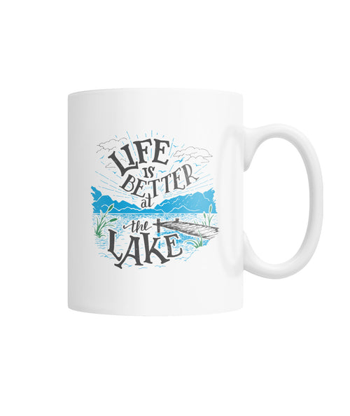 LAKE LIFE --COFFEE MUG White Coffee Mug