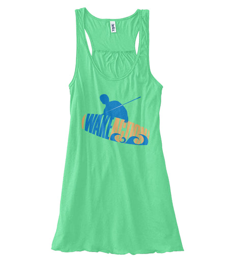 WOMANS FLOWY TANK TOP