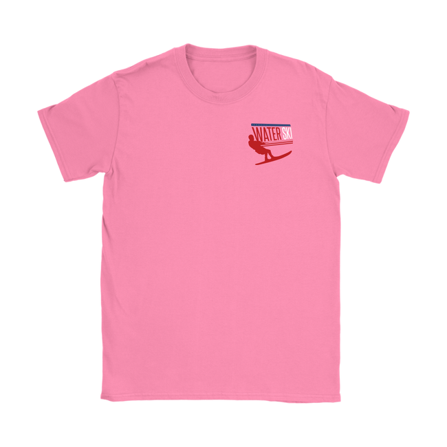 WOMANS -  WATER SKI TEE