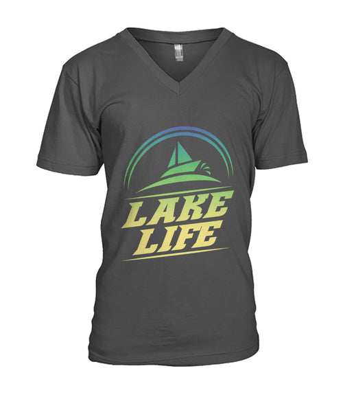 MENS V-NECK LAKE