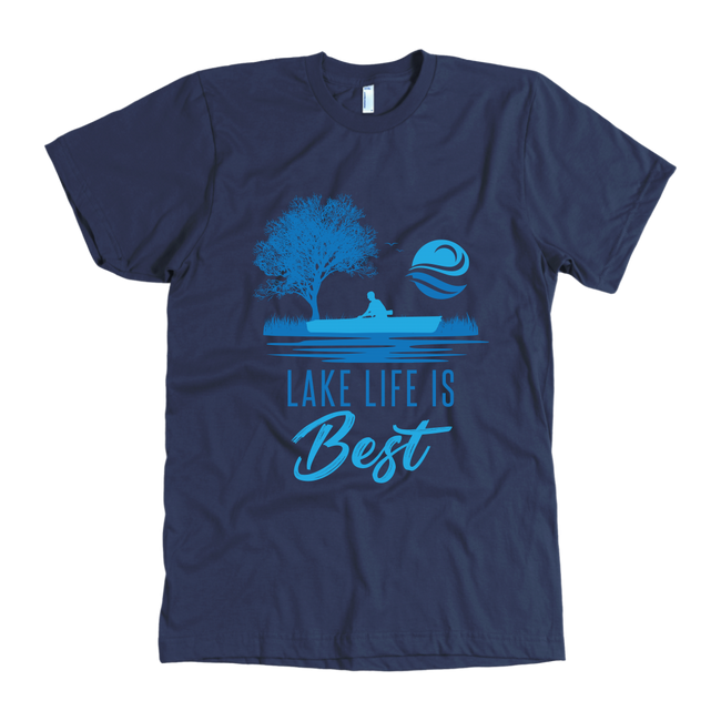 MENS SHIRT - Lake Life Is Best Shirt