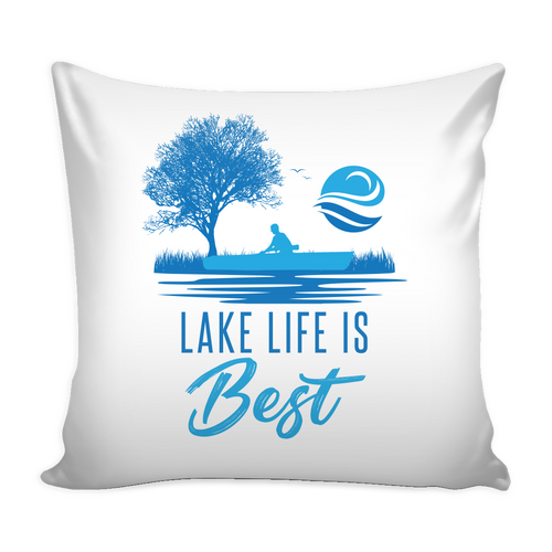 CUSHION (Cover Only) Lake Life Design