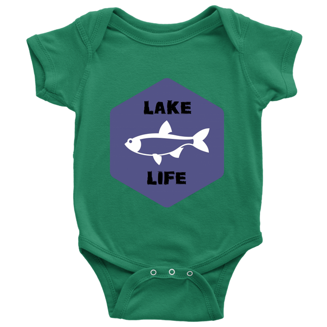 BABY BODYSUIT - LAKE LIFE