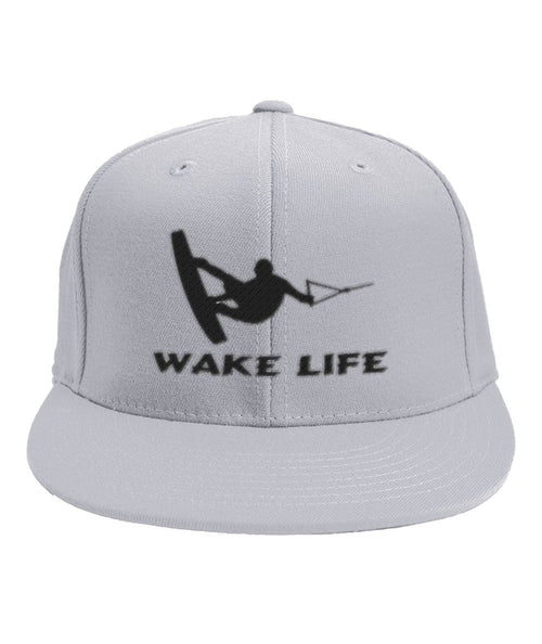 WAKE LIFE FLAT BILL HAT