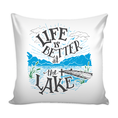 LAKE LIFE CUSHIONS - With Insert