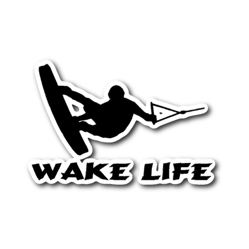STICKER - WAKE LIFE