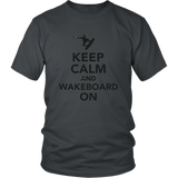 UNISEX - KEEP CALM SHIRT (FRONT BACK DESIGN)