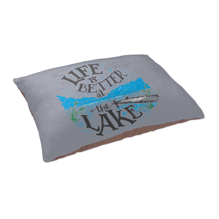 Square Paper Coaster Set - 6pcs  (LAKE LIFE )