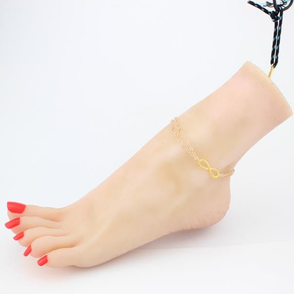 Fashion Women Beach Barefoot Foot Jewelry Anklet Chain Chain Jewelry