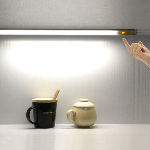 30cm Portable Stepless Dimmer Touch Control USB LED Night Light Cool/Warm White Unlimited Dimmable Wall Lamp for Desk Closet