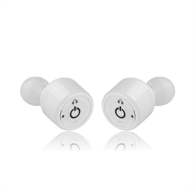 Twins True Wireless Bluetooth Earphone X1T Mini Invisible Cordless Bluetooth CSR 4.2 Earbuds Anti-fall Headset with Mic