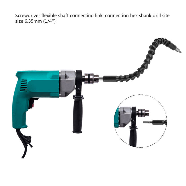 Extension Screwdriver Drill Bit Holder Universal Shaft Flexible Extension Bit Holder Quick Change Connecting Link for Electronic Drill Connection