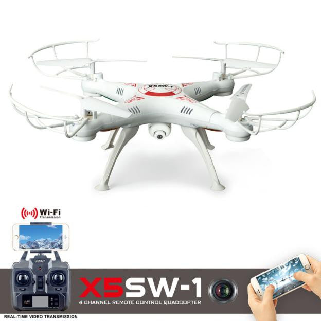 X5SW-1 6-Axis Gyro 2.4G 4CH Real-time Images Return RC FPV Quadcopter drone