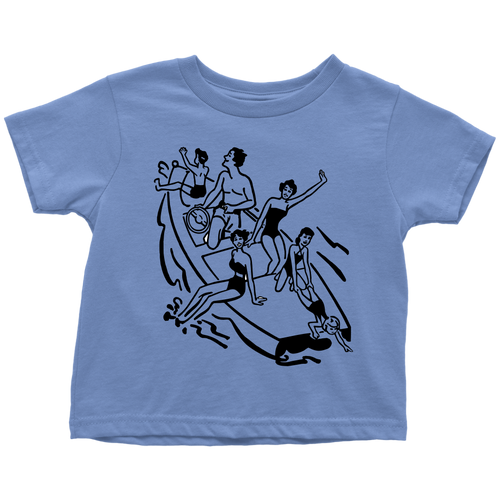 TODDLER SHIRT - LAKE LIFE & BOATING