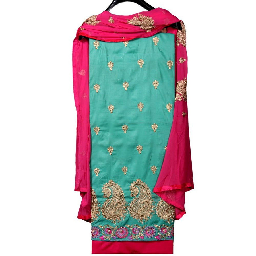 Punjabi Suit Heavy Design Un-Stitched