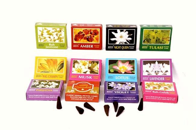 Gift Pack Incense Cones 24 box (12 Fragrance)