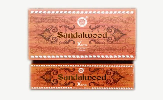 Sandalwood Agarbatti 12 pack Box