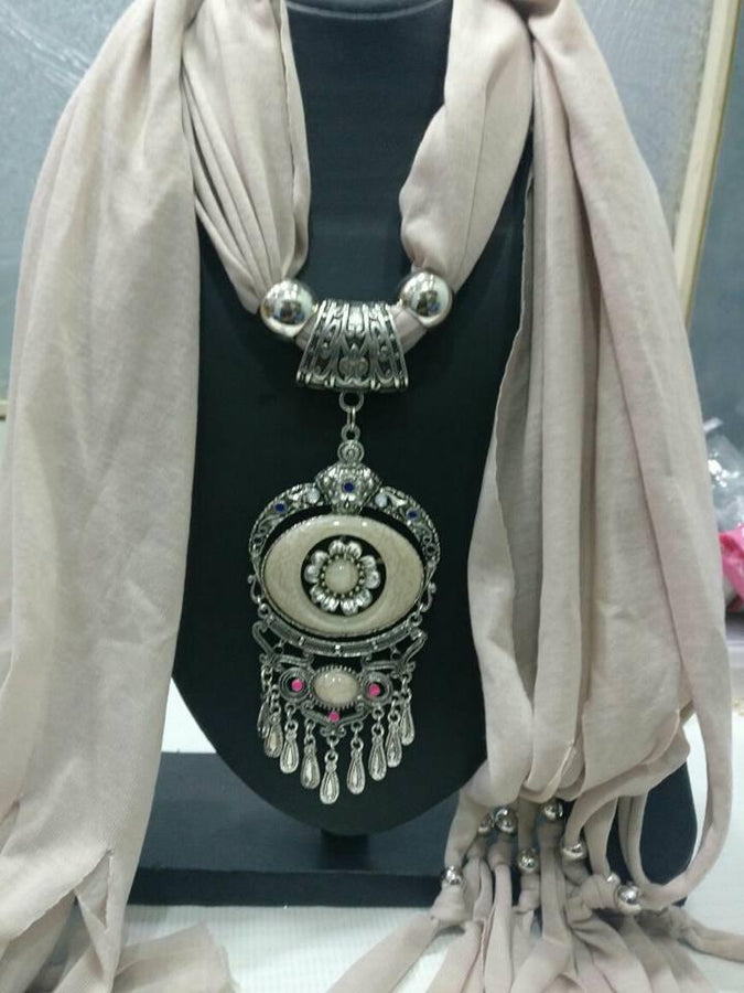 Sliver Scarf Necklace
