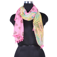 Poly Cotton Printed Stole