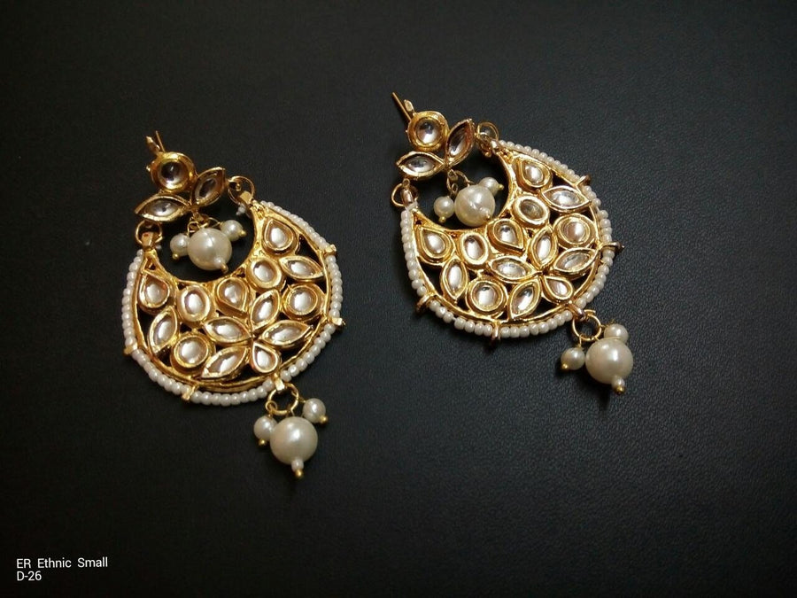 Designer Beads Ethnic Small Earrings
