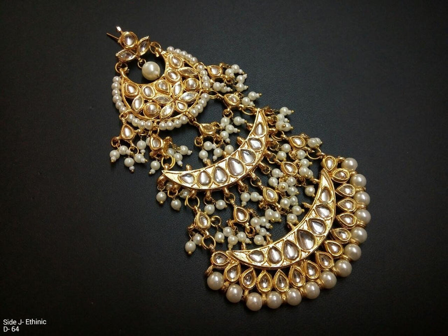Designer Jhoomar Ethnic Beads Earrings