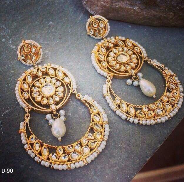 Designer Oval Beads Earrings