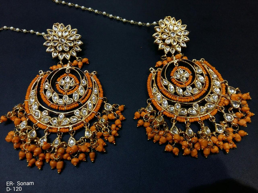 Designer Beads Sonam Earrings
