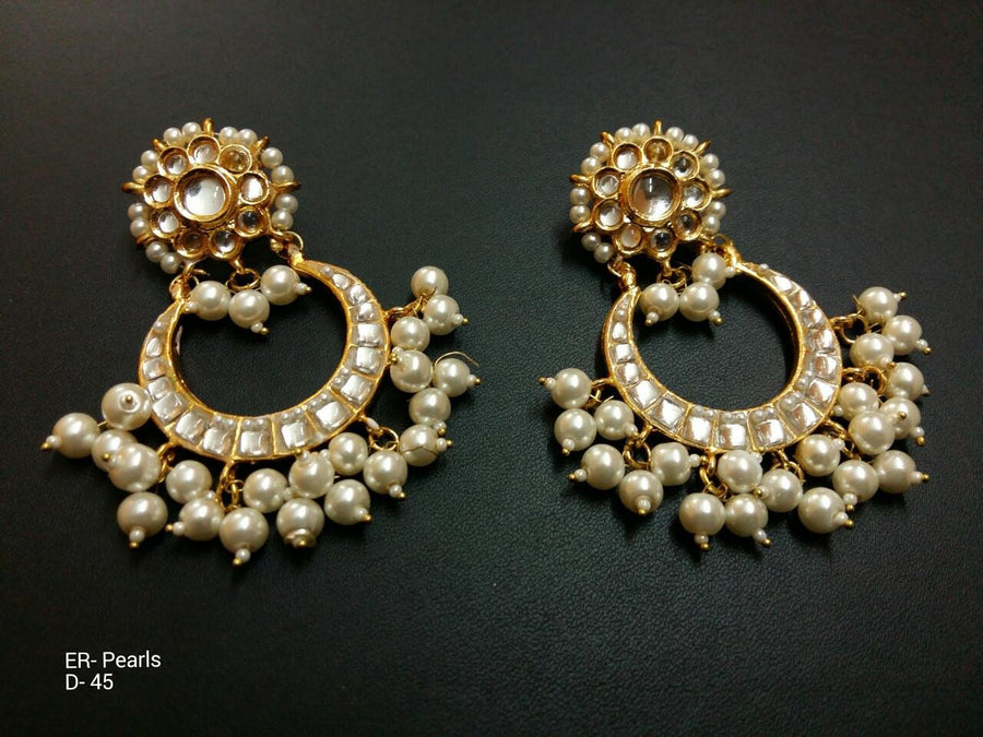 Designer Beads Pearls Earrings