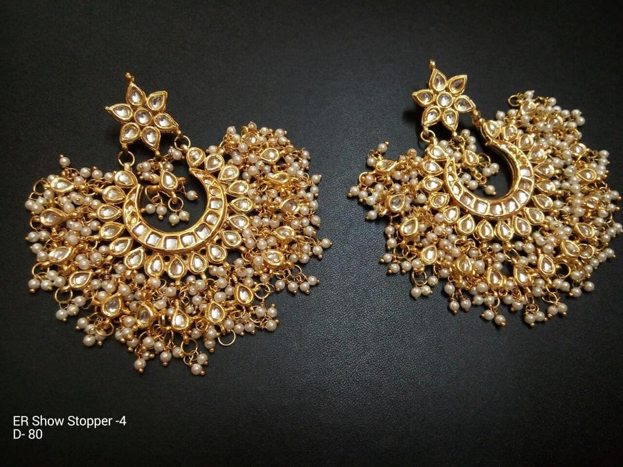 Designer Beads Show Stopper Earrings