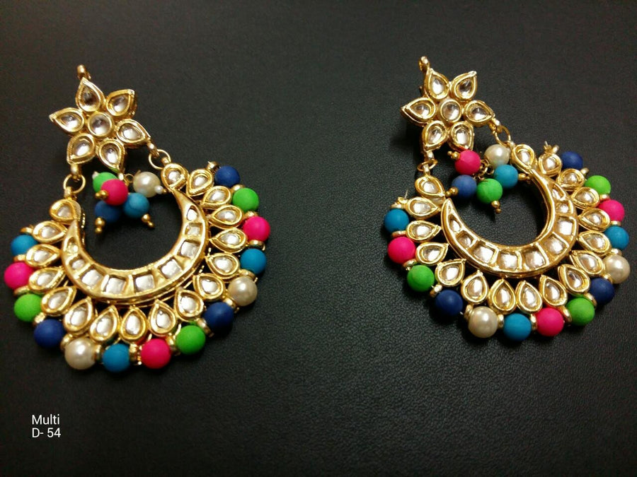 Designer Multi Color Beads Earrings