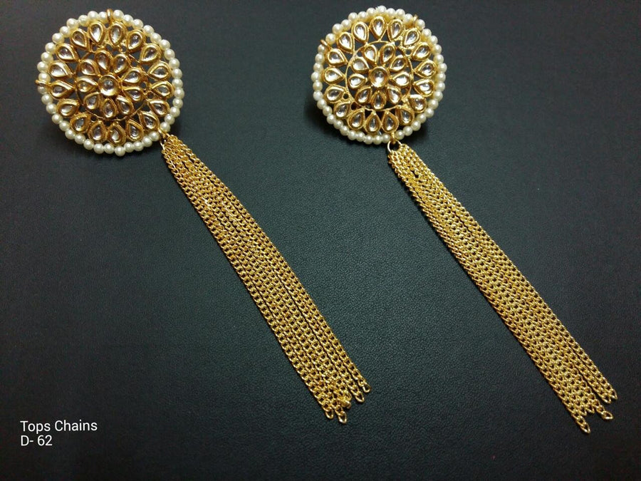 Designer Tops Chain Earings