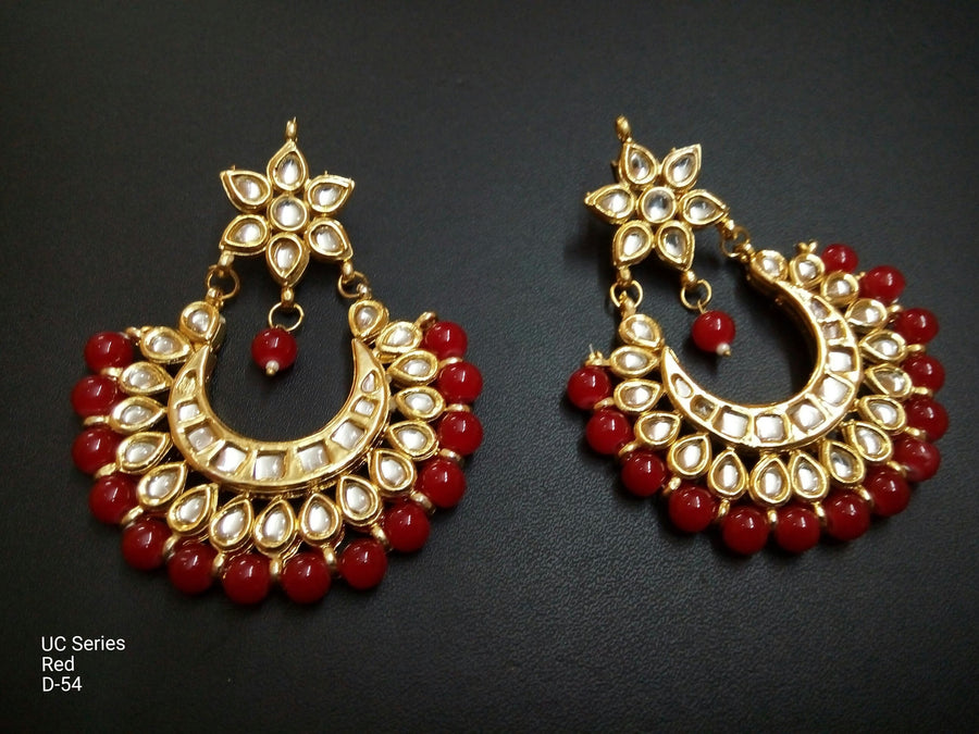 Designer UC Series Red Earings