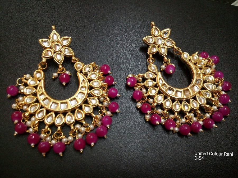 Designer Beads United Colors Rani Earrings