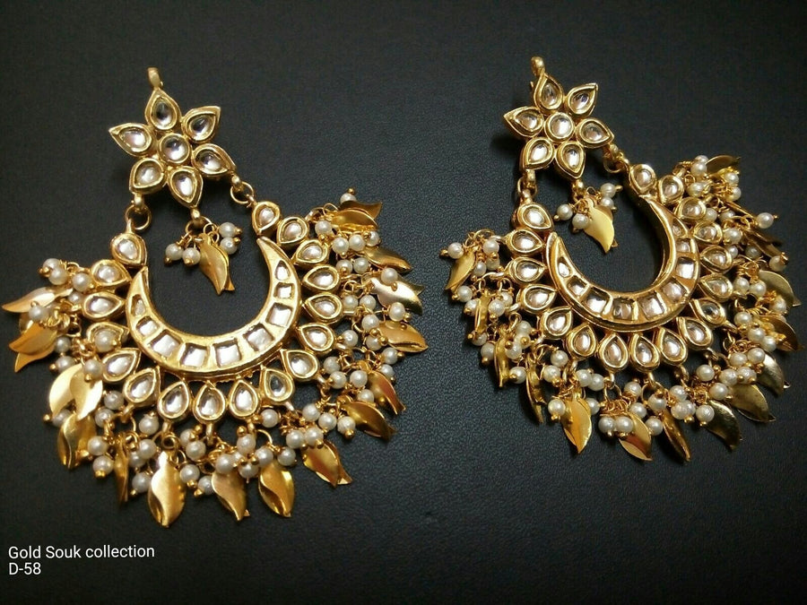 Designer Beads Gold Souk Earrings