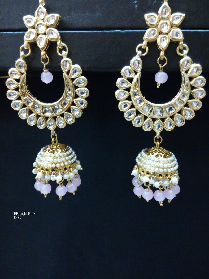 Designer Beads Earrings with Jhumka