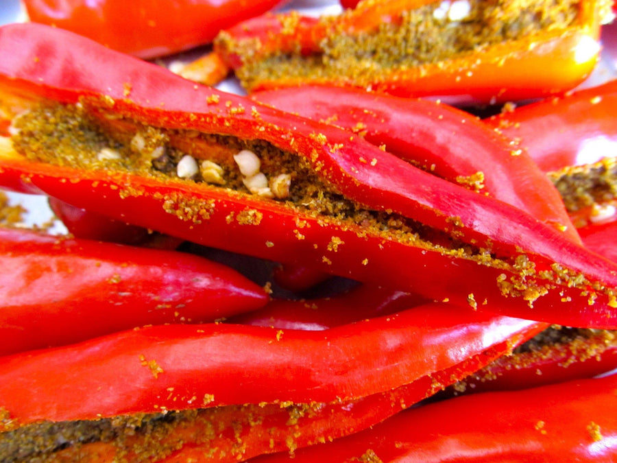 Red chilly pickle
