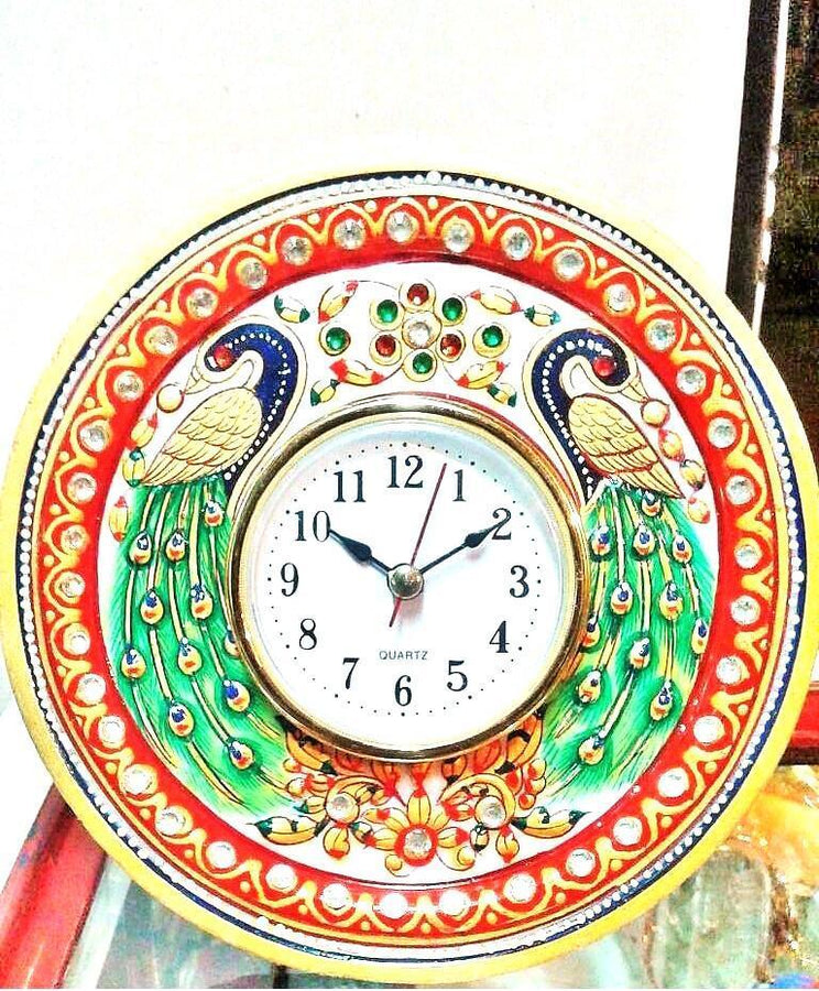 Ethnic Showpiece 6 inch Clock