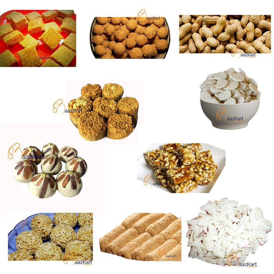Lohri Combo of Barfi, Ladoo, Chikki and Rewari