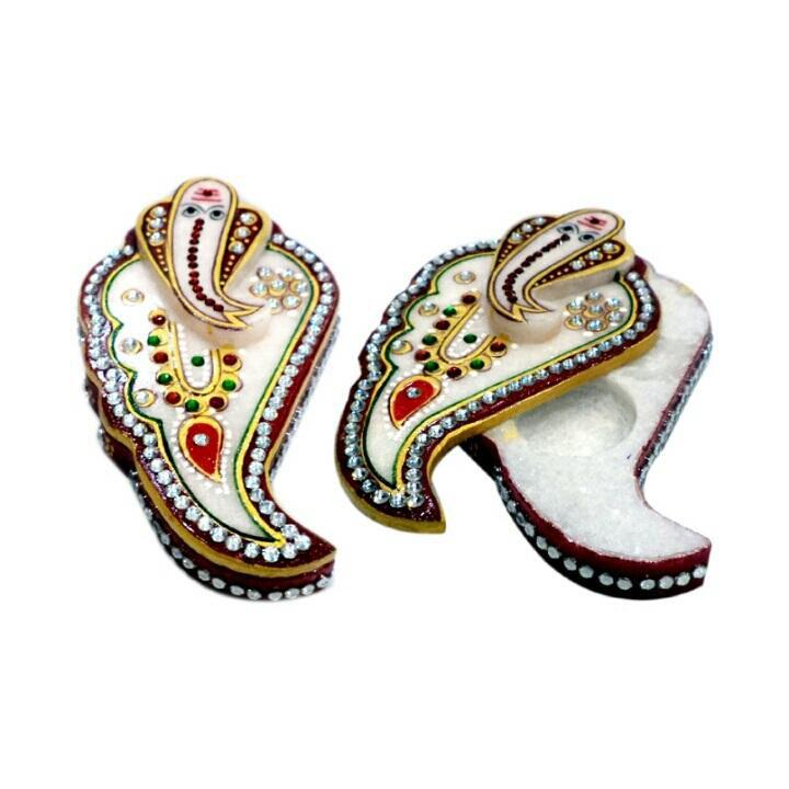 COLORFUL HANDCRAFTED GANESH CHOPRA NO.4Colorful Handcrafted Ganesh Chopra No.4