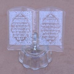Crystal Salat Quran Book Replica